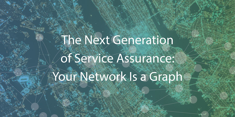 Learn how your network is a graph and how graph technology solves many service assurance challenges.