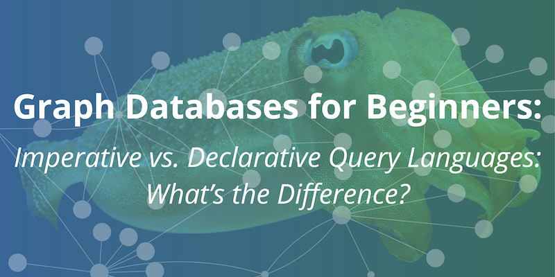 Explore the various trade-offs and differences between imperative and declarative query languages