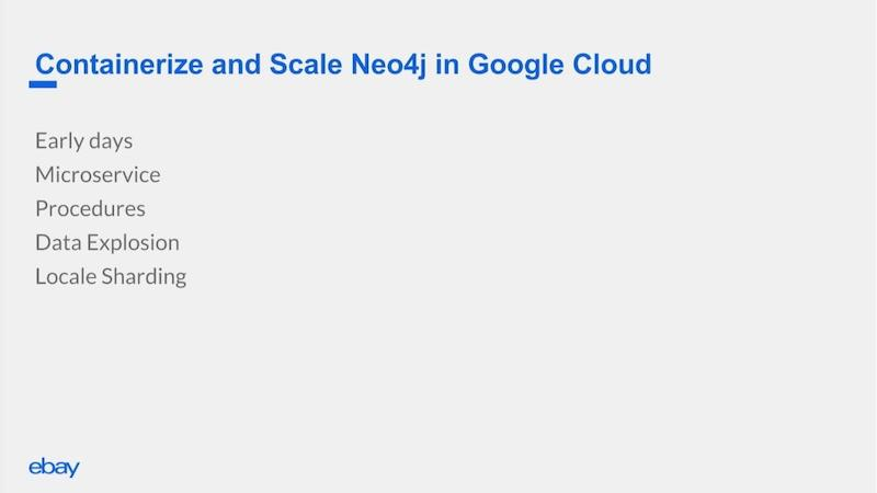 Containerize and scale Neo4j in Google Cloud.
