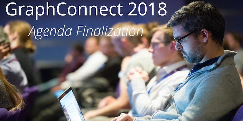 Check out the highlights and final agenda for talks and more at GraphConnect 2018.