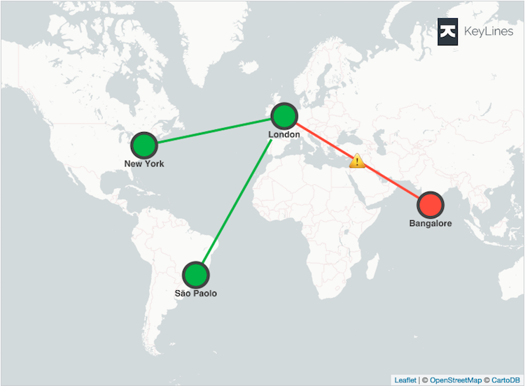 Check out this dashboard view of a global corp's IT network.