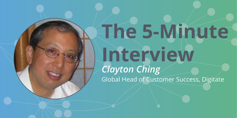 Read this 5-minute interview with Clayton Ching of Digitate to learn about AI and graph databases.