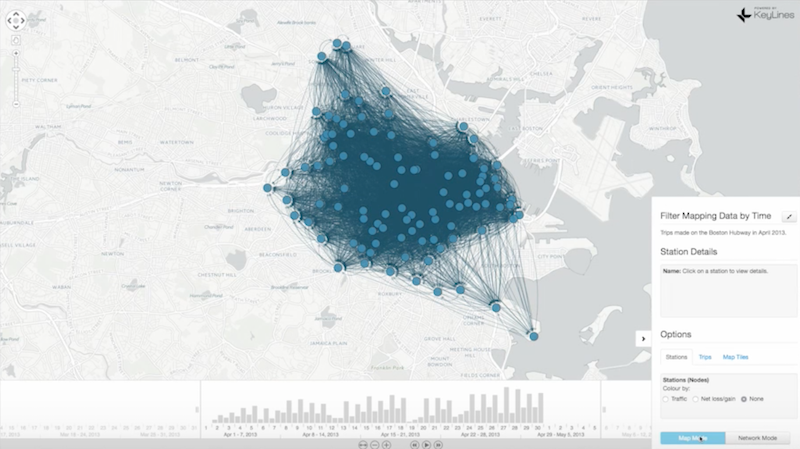 Read Dan Williams' presentation on developing graph visualizations in time and space.
