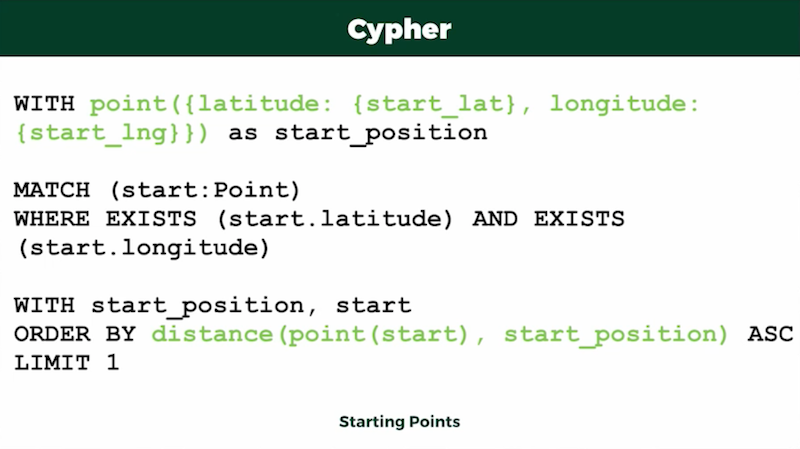 Check out Cypher code.