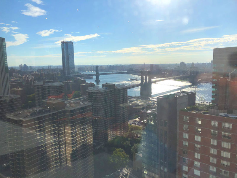The new from the Stack Overflow offices in NYC.
