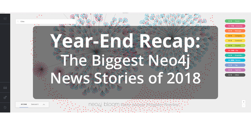 Review Neo4j's biggest news and announcements from 2018, including our $80M series E funding round