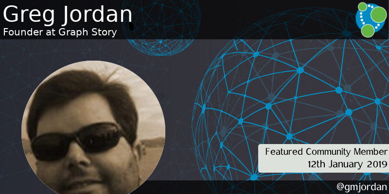 Greg Jordan, Found at Graph Story, featured Neo4j community member
