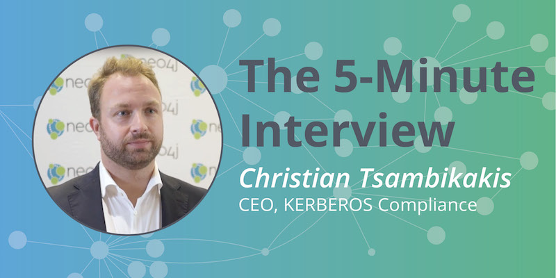 Check out this 5-minute interview with Christian Tsambikakis.