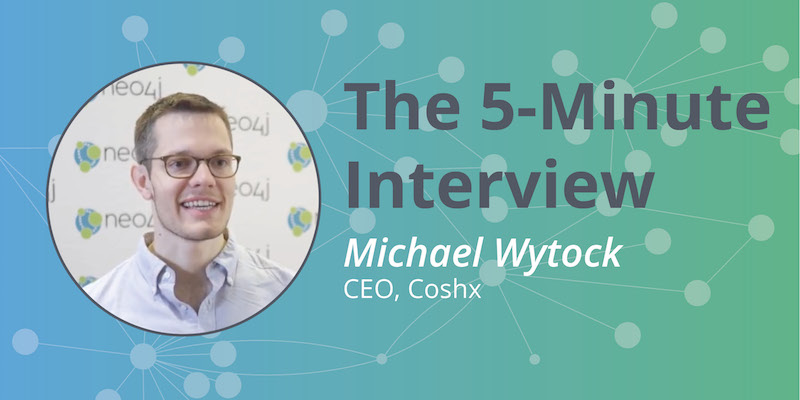 Check out this 5-minute interview with Michael Wytock, CEO of Conshx.
