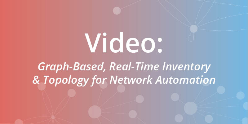 Watch this webinar on how Neo4j's graph platform improves the representation of network automation