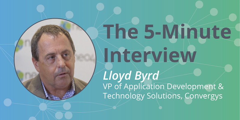 Check out this 5-minute interview with Lloyd Byrd of Convergys.