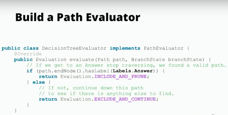 Build a path evaluator