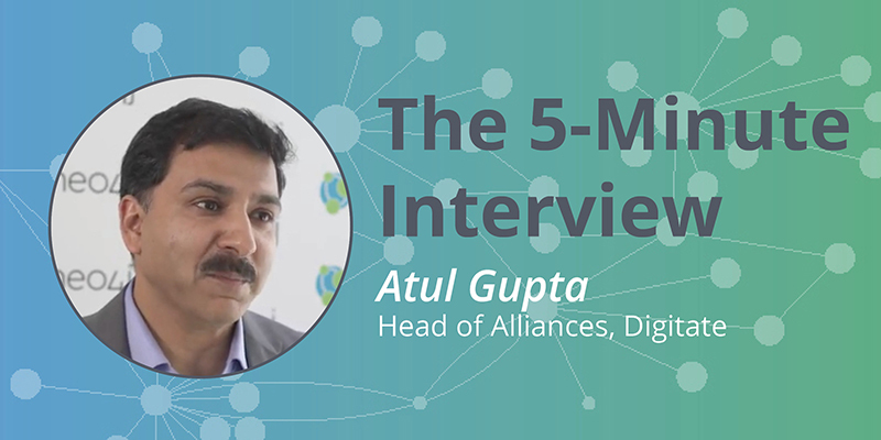 Check out this 5-minute interview with Atul Gupta of Digitate