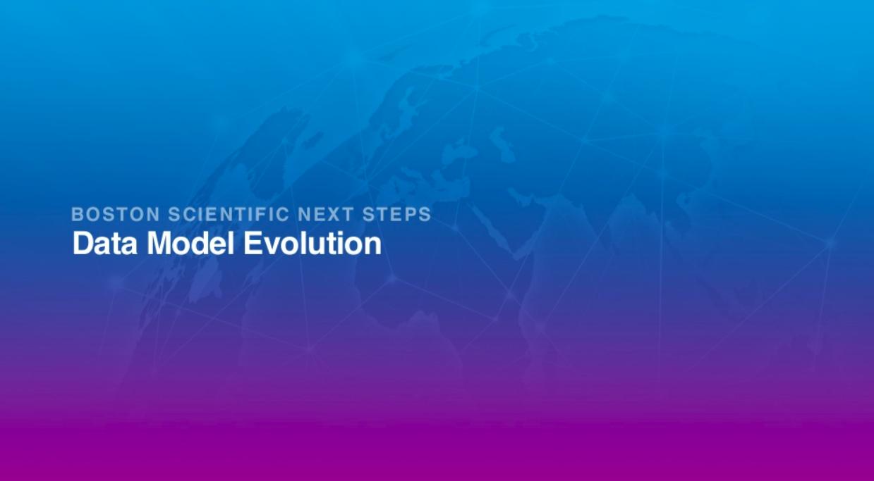 Data model evolution