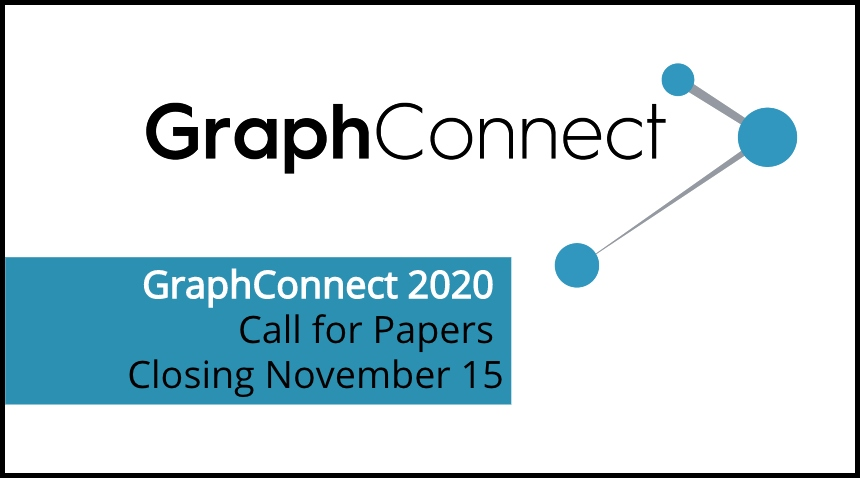 Don't miss the CFP deadline for GraphConnect 2020.
