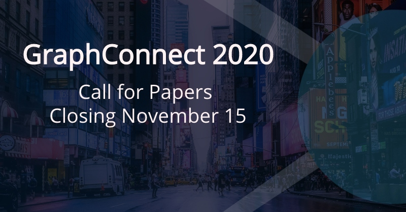 Learn more about GraphConnect 2020 call for papers.