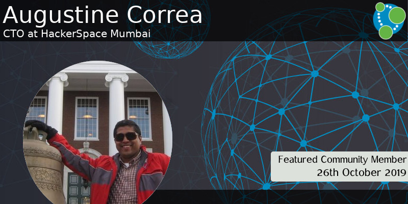 Augustine Correa - This Week's Featured Community Member