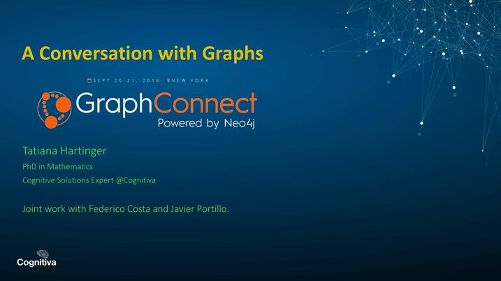 A Conversation with Graphs by Tatianna Hartinger of Cognitiva
