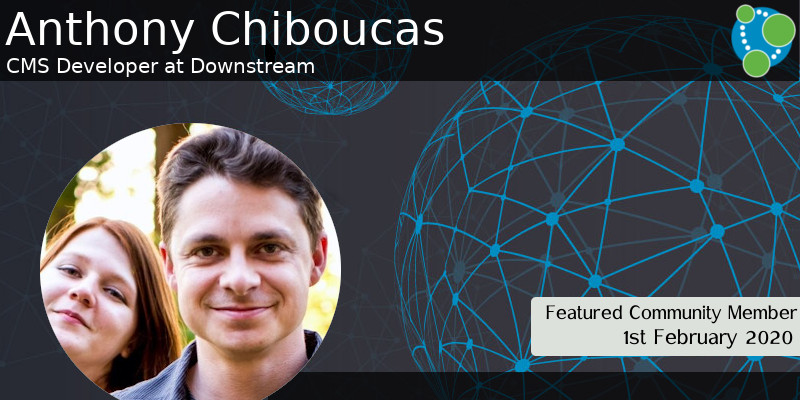 Anthony Chiboucas - This Week's Featured Community Member