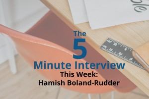 Catch This Week's 5-Minute Interview with Hamish Boland-Rudder, the Online Editor of the ICIJ