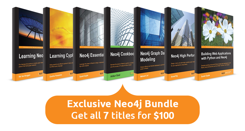 Free neo4j books discounts from beginner to advanced neo4j discover the ever expanding library of neo4j books available from packt publishing fandeluxe Image collections