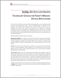 NoSQL, Big Data, and Graphs