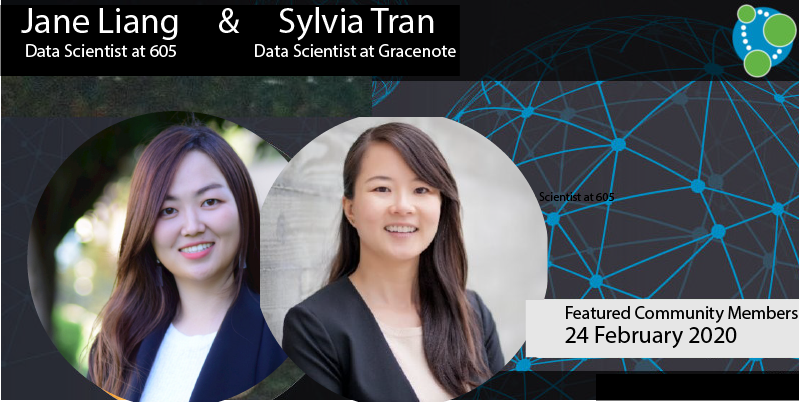 Sylvia Tran, Jane Liang - This Week's Featured Community Member