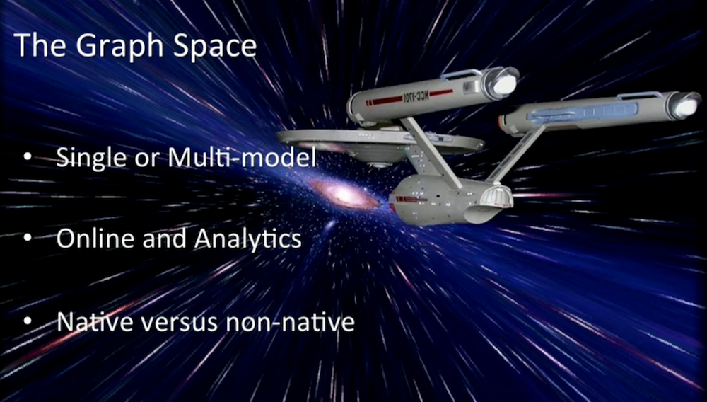 Watch Jim Webber's Very Sciency Keynote Presentation on the Graph Database Landscape