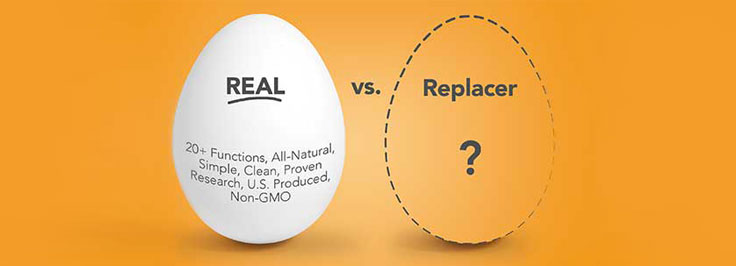 Real Eggs Vs Replacers