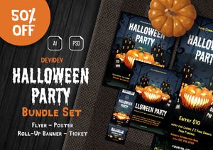 Halloween Party Bundle