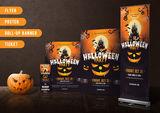 Halloween themed Template Bundle