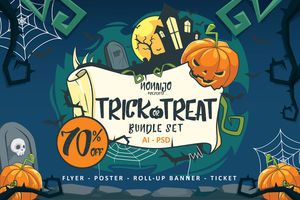 Trick Or Treat Bundle Set