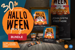 Halloween Party Bundle Set