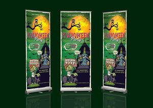 Halloween Roll-Up Banner