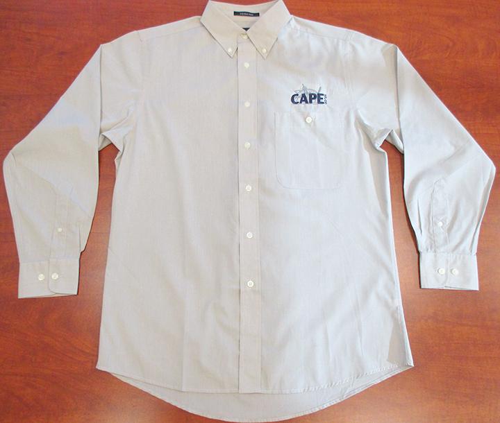 CAPE Men's Button-down Dress Shirt