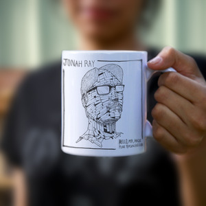 Hello, Mr. Magic Plane Person, Hello Coffee Mug thumb