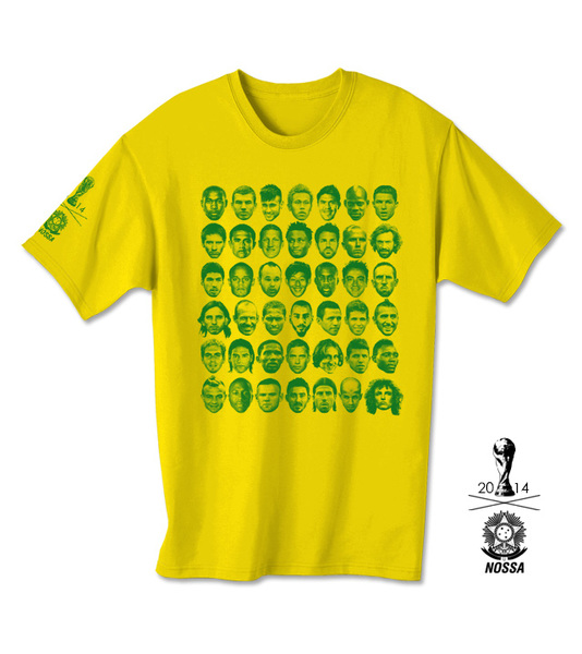 reputable site 24e97 9894e 2014 World Cup (Yellow) T-Shirt | NOSSA | Online Store ...