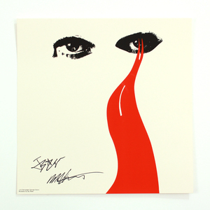 [SIGNED] Strange Stains Limited Edition Screen Print thumb