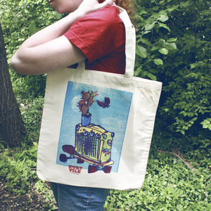Petting Zoo Tote Bag thumb