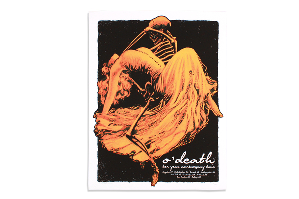Ten year anniversary tour & show poster odeath online store
