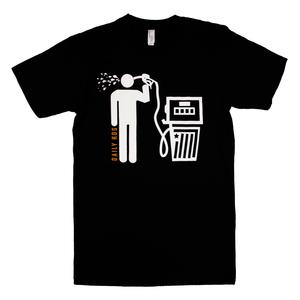 Petrolcide (Black) Unisex T-Shirt thumb