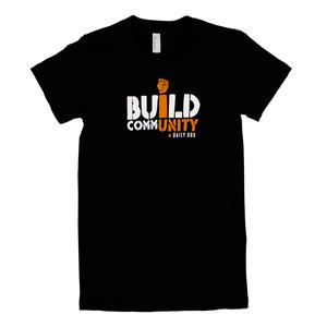 Build CommUNITY (Black) Women's T-Shirt thumb