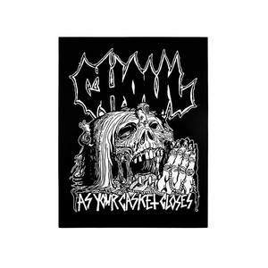 Ghoul: As Your Casket Closes Vinyl Sticker thumb