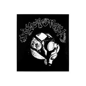 Dystopia: Gasmask Earth Vinyl Sticker thumb