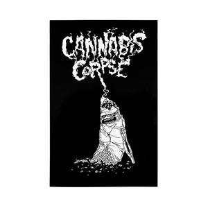 Cannabis Corpse: Vile Roach Vinyl Sticker thumb