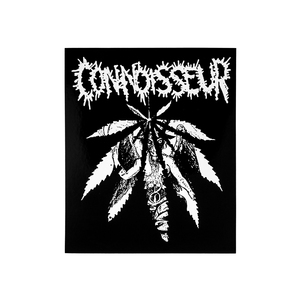 Connoisseur: Vinyl Sticker thumb