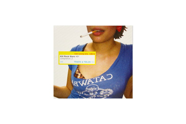 Various Artists Tracks And Fields 2xcd Kill Rock Stars