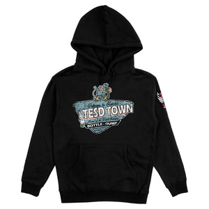 TESD TOWN HOODIE WITH 4 COLOR DEMONS PATCH  thumb
