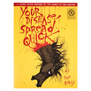 Tom Neely: Your Disease Spread Quick Comic Book thumb