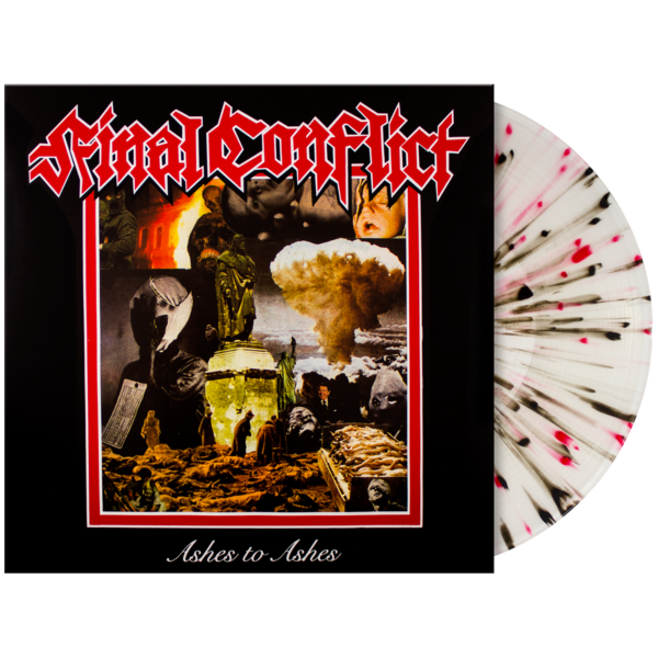 Final Conflict: Ashes to Ashes Vinyl LP | Tankcrimes | Online Store